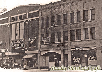 The Stanley Hotel in Eastland Texas